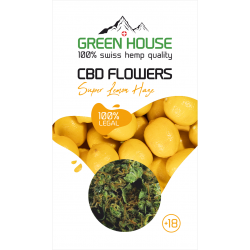 CBD Kwiaty konopi Green House Super Lemon Haze 0,3 G